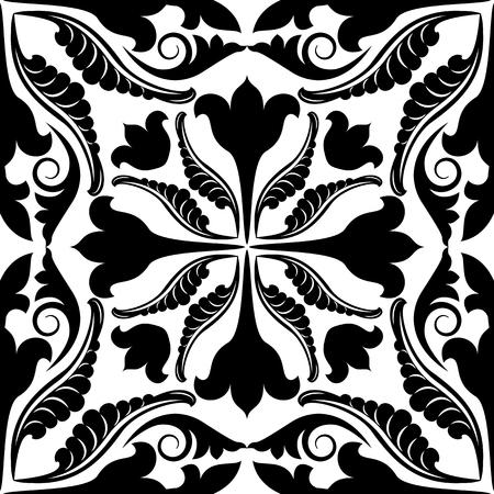 antique wallpaper: antique pattern seamless Illustration