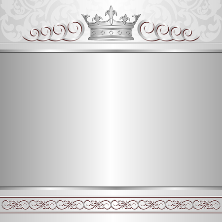 kingly: royal background with crown