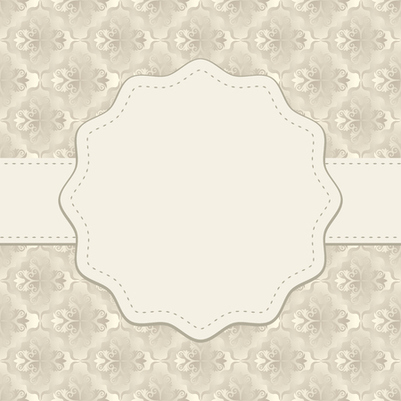 copy: antique background with copy space Illustration