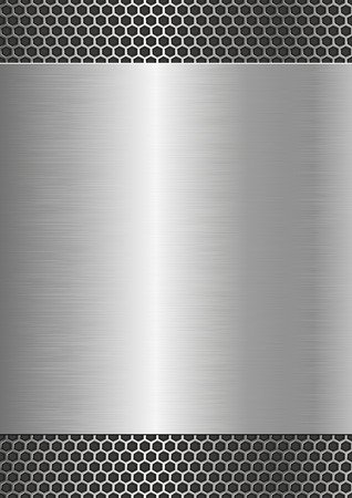 metallic background with steel texture