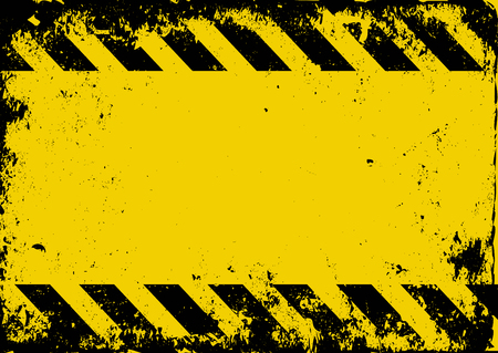 hazard tape: grunge danger background