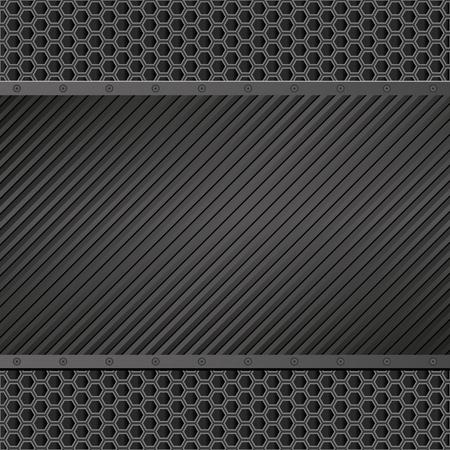 black: black textured background