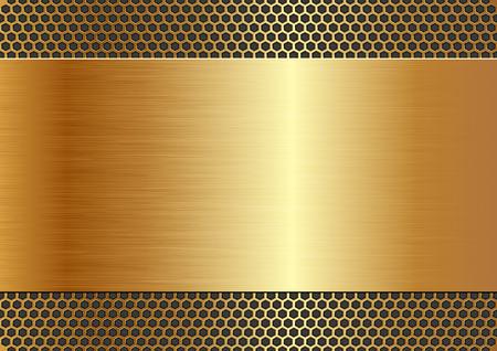 metallic background with texture