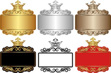 set of royal frames