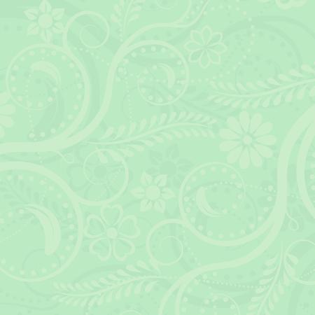 verde: Green floral de fondo