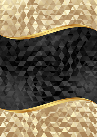 golden and black textured background