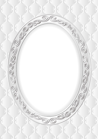 pattern antique: decorative background with antique frame