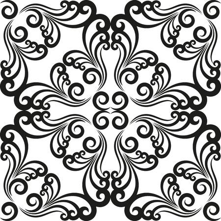 pattern antique: antique pattern seamless Illustration