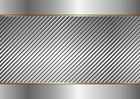 steel industry: textured metal background Illustration