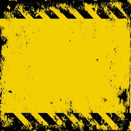 grunge hazard background