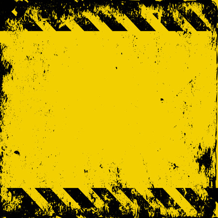 grunge hazard background