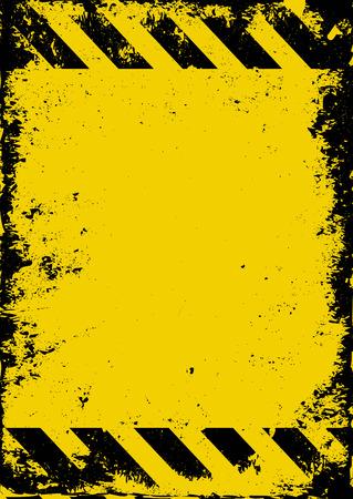 barrier tape: grunge hazard background