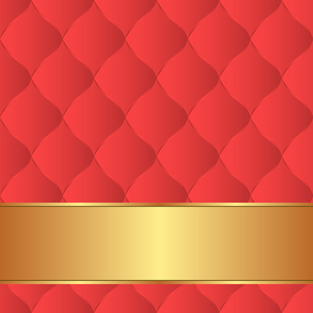 quilted: decorative backgound with quilted fabric pattern