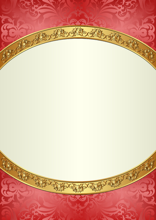 pattern antique: decorative background with ornaments