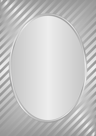 silver frame: silver background with frame