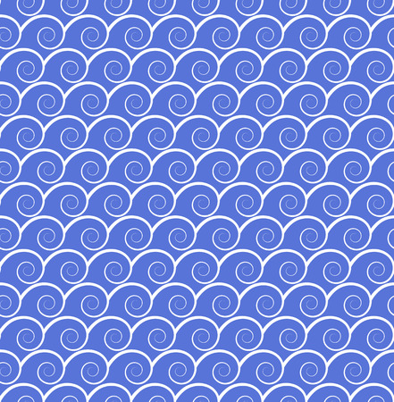 graphic pattern: seamless background with wavy pattern