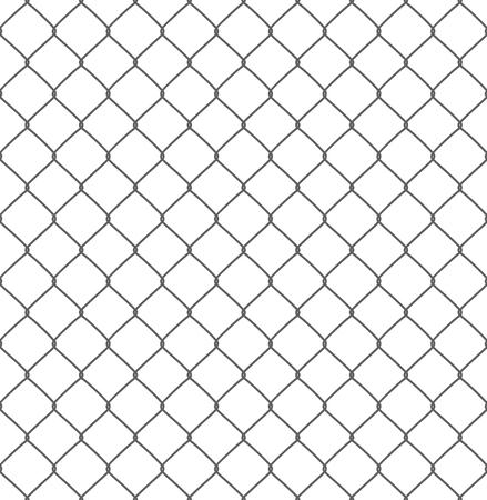 metal pattern: silhouette of metal wire mesh, seamless pattern Illustration