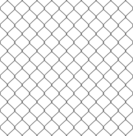 silhouette of metal wire mesh, seamless pattern Illustration