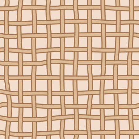grid: hand drawing grid, seamless pattern Illustration