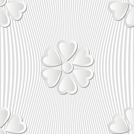 decor graphic: seamless with floral pattern Illustration