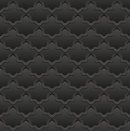 decor graphic: seamless pattern, black background