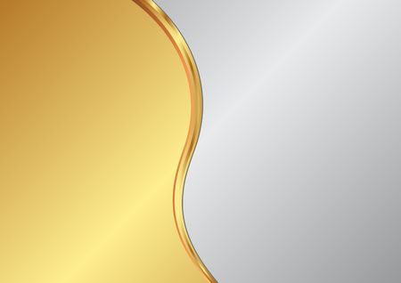 metallic background: Metallic background divided into two