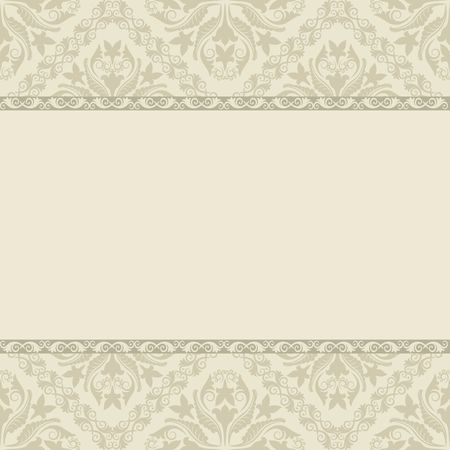 vintage background pattern: vintage background with decorative pattern Illustration