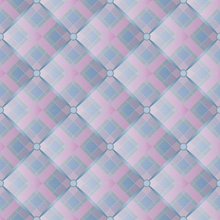 scotish: quilted fabric - seamless pattern Illustration