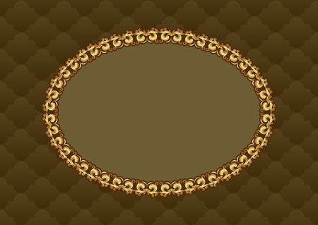 decorative patterns: decorative background with old-fashioned patterns and elegant frame