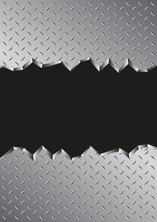 jagged: jagged metal background