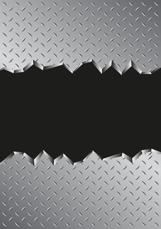 jagged metal background