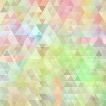 full color: full color abstract background with triangle shapes Illustration