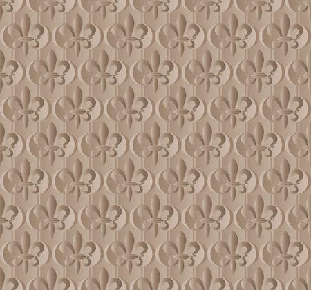baroque border: seamless pattern with decorative ornament