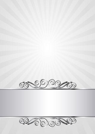 sunbeam background: decorative background with vintage banner