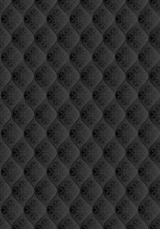 black seamless backgrand with decorative patern
