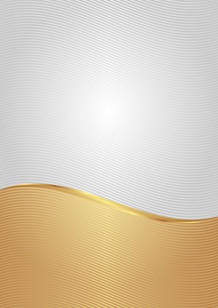 curve line: abstract background with wavy lines divided into two