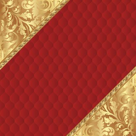 decorative background with vintage patterns