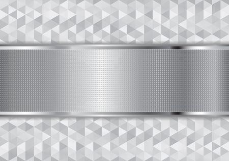 aluminium texture: metallic textured background and geometric texture