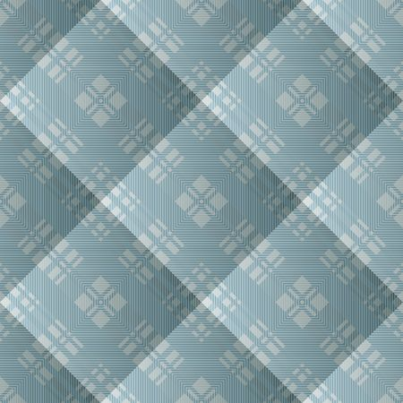 Quilted seamless pattern