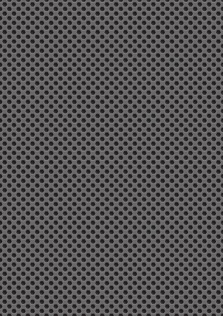 gray texture with holes, seamless pattern