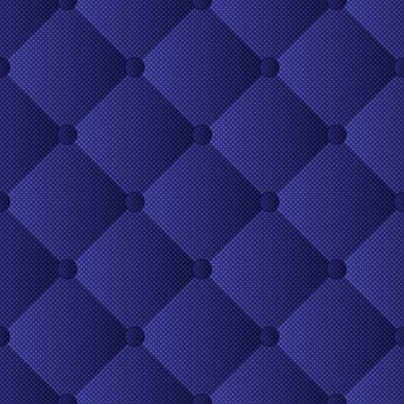 quilted fabric, seamless pattern Illustration
