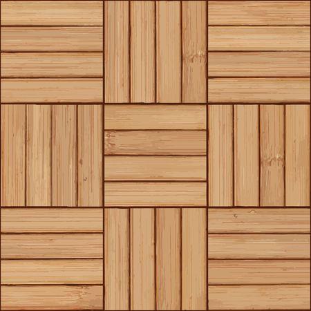 wooden planks background, parquet pattern Ilustração