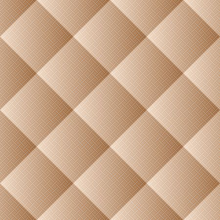 Quilted fabric seamless pattern illustration. Illustration