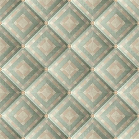Seamless pattern of quilted fabric