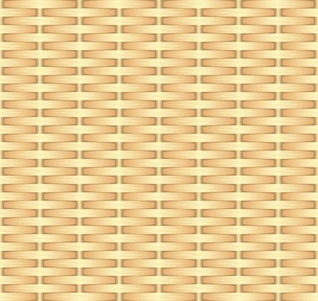 Wicker background template seamless pattern vector illustration