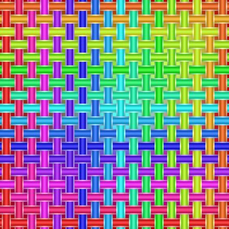 Colorful pattern for banner