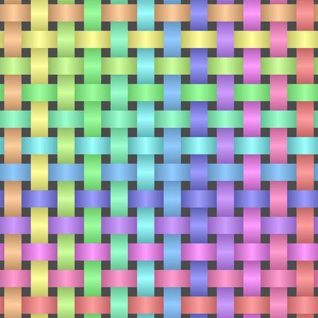 Multicolored background, seamless pattern illustration.