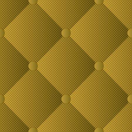 Gewatteerde materiële, naadloze patroonillustratie.