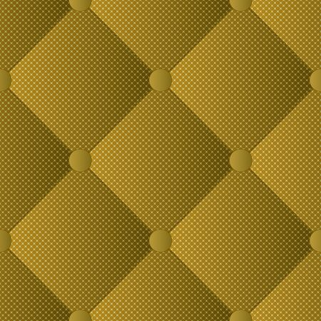 Quilted material, seamless pattern illustration. Çizim