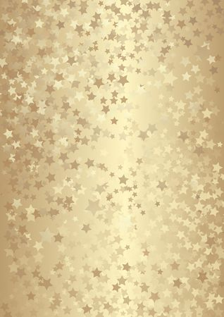 golden background with stars  向量圖像